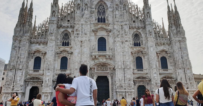 72h mit Baby in Mailand