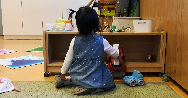 Quinn im Kindergarten
